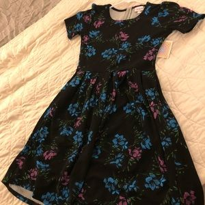 BRAND NEW WITH TAG LULA ROE AMELIA DRESS! (XS)